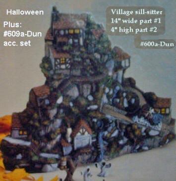 Ceramic Painters Web Site - Bisque: Halloween Village