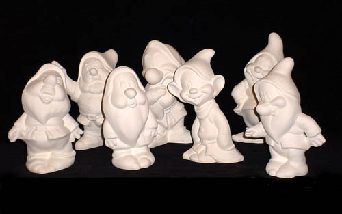 Ceramic Painters - Bisque: Collectible Characters