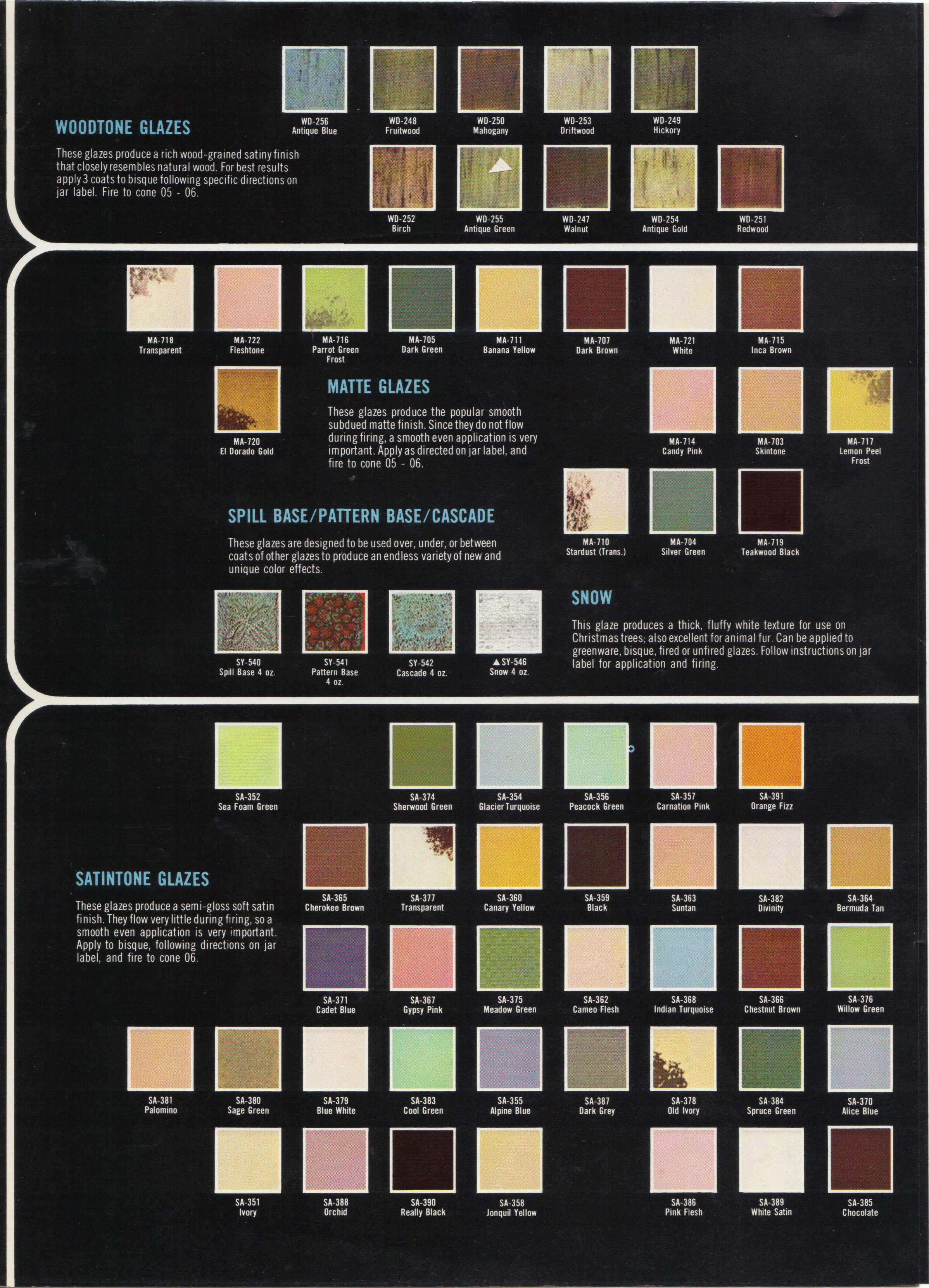 Paint The Ceramic Painters Web Site Duncan Old Discountinued